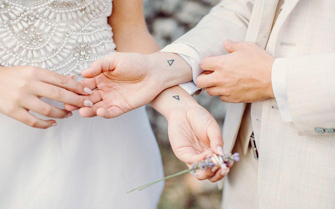 Emma and Benedikt's Bohemian Luxe Croatian Beach Wedding