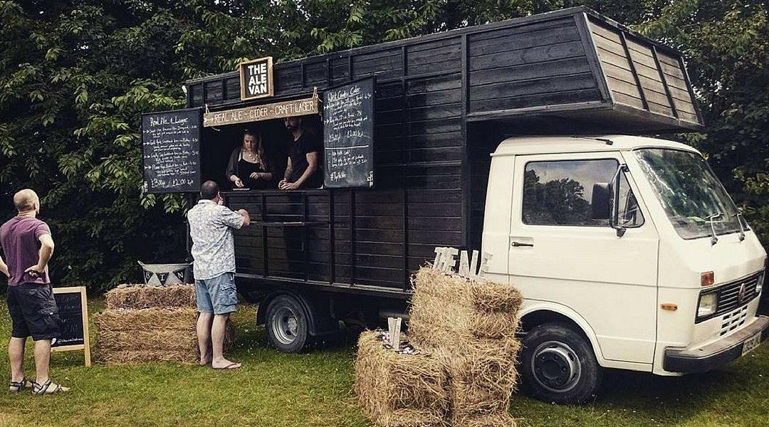 Festival Brides Love: The Ale Van