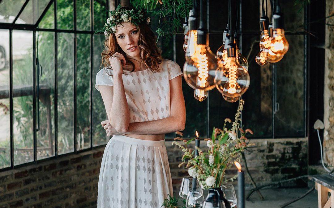 Wild Industrial Parisian Wedding Inspiration