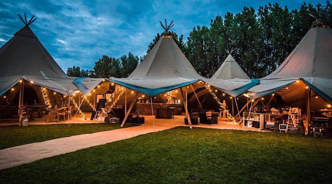 Festival Brides Love: Magical Events Ltd | Tipi & Bell Tent Hire in Norfolk