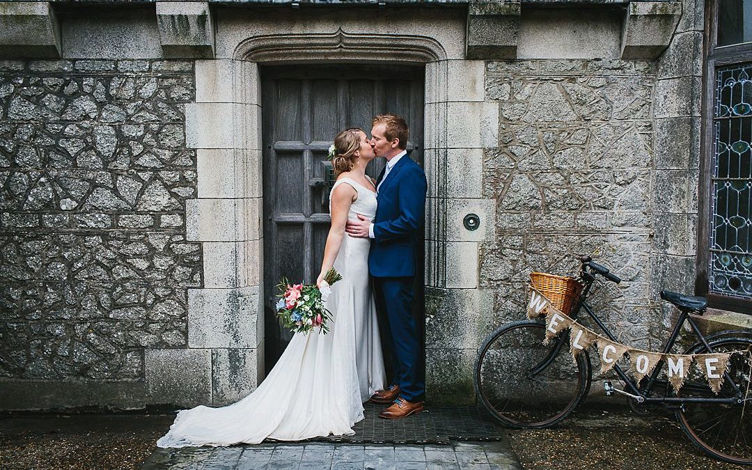Zoe and Dave's Cosy Cornish Cove Beach Wedding