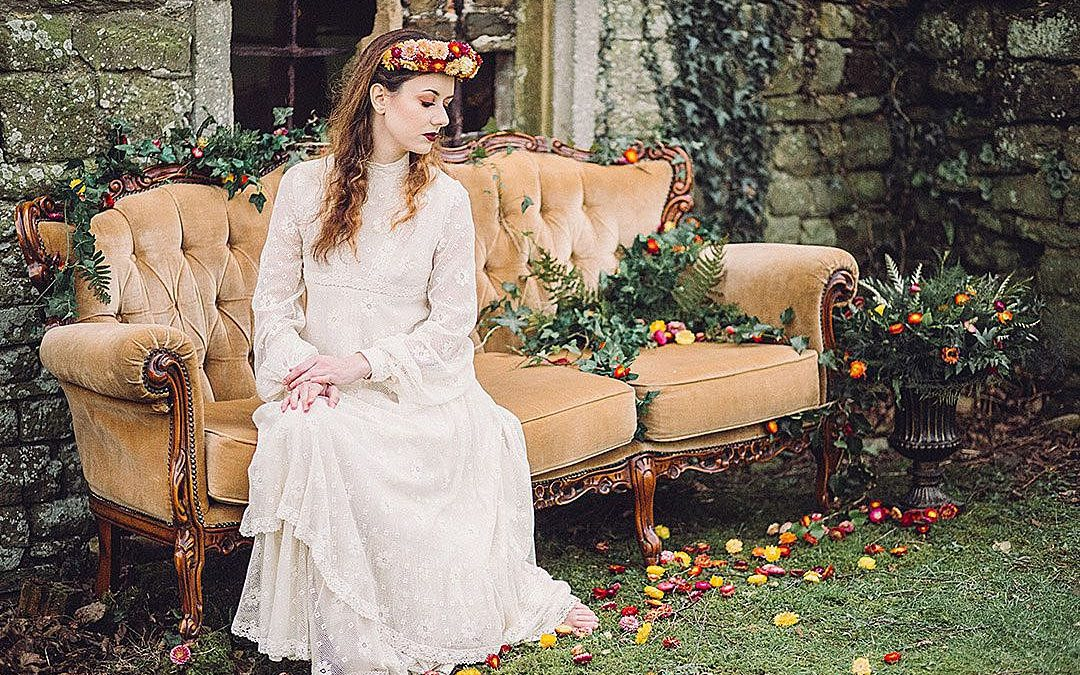 Wildflower Fairytale | A Bold and Earthy Bohemian Styled Shoot