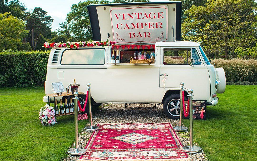 Festival Brides Love: Vintage Camper Booths | VW Camper Van Hire