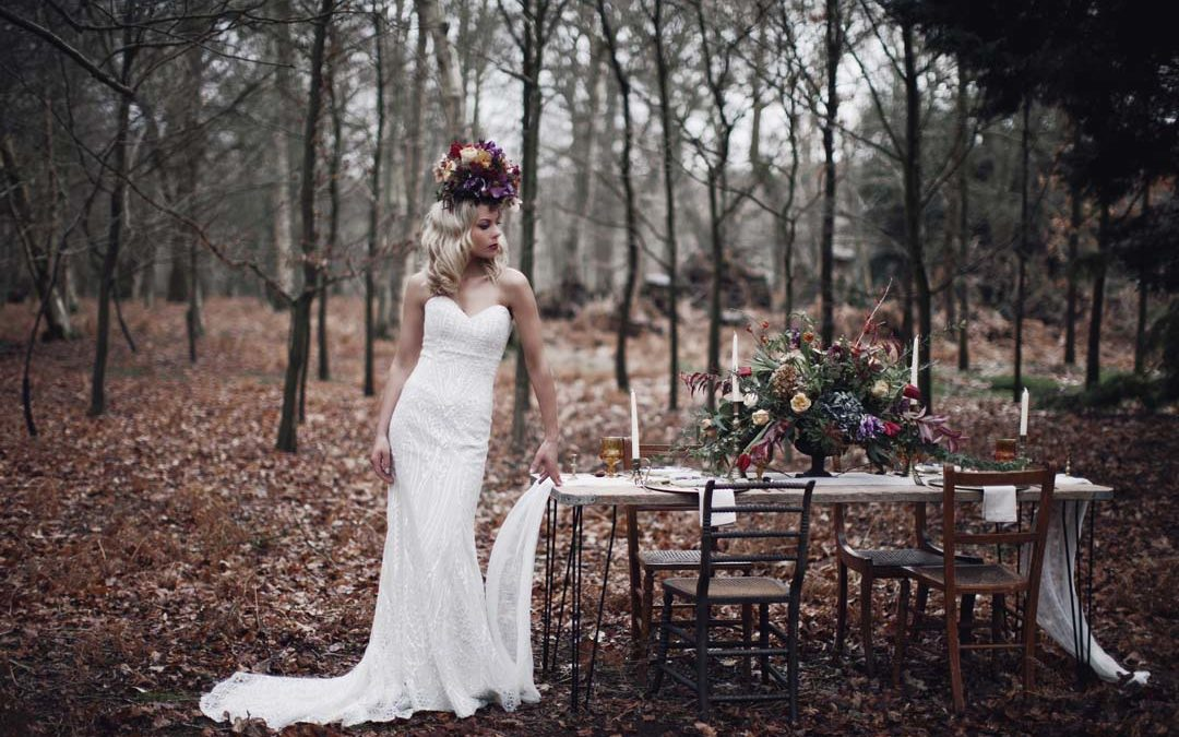 Ethereal Glamour | A Luxe Bohemian Woodland Inspired Shoot