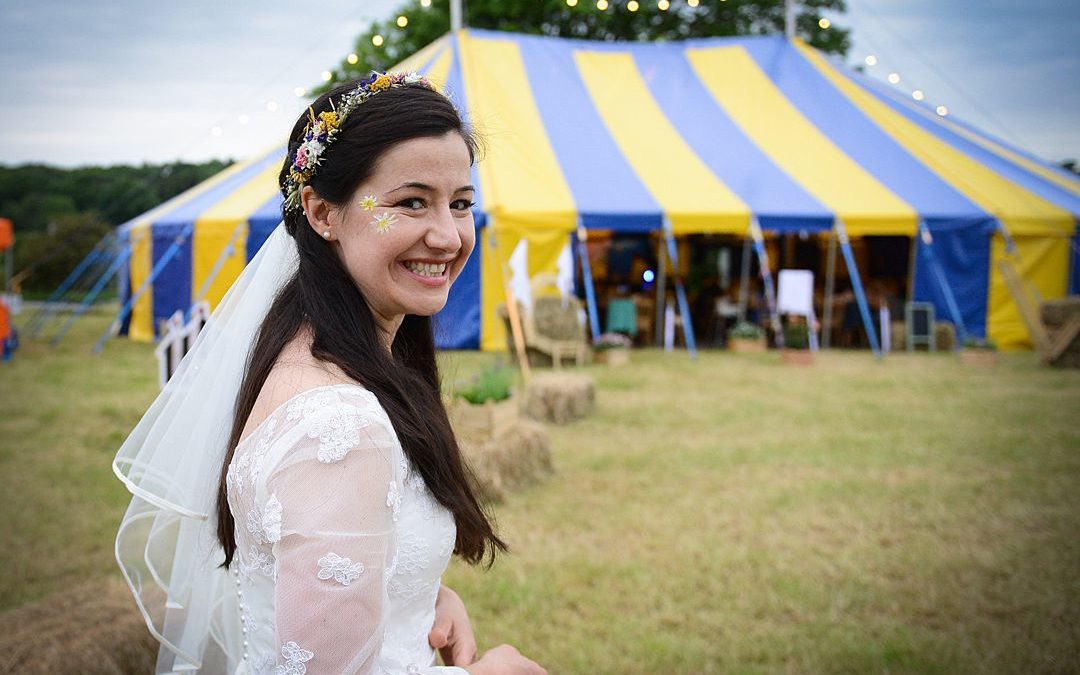 Festival Brides Love: Big Top Weddings | Colourful Fairground & Circus Tents